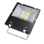 200W LED Security Floodlight | IP65 Waterproof | Extreme Weather Resistant | ASA Polymer Casing | Warm White